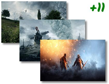 Battlefield 1 Revolution theme pack