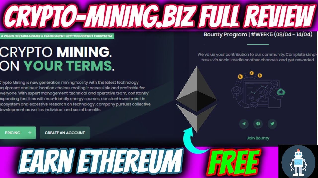 Crypto-Mining.Biz Cloud Mining Site Full Review 2020 Withdraw Proof Scam Or Legit?