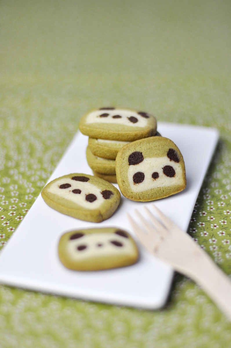 Mini Panda Cookies