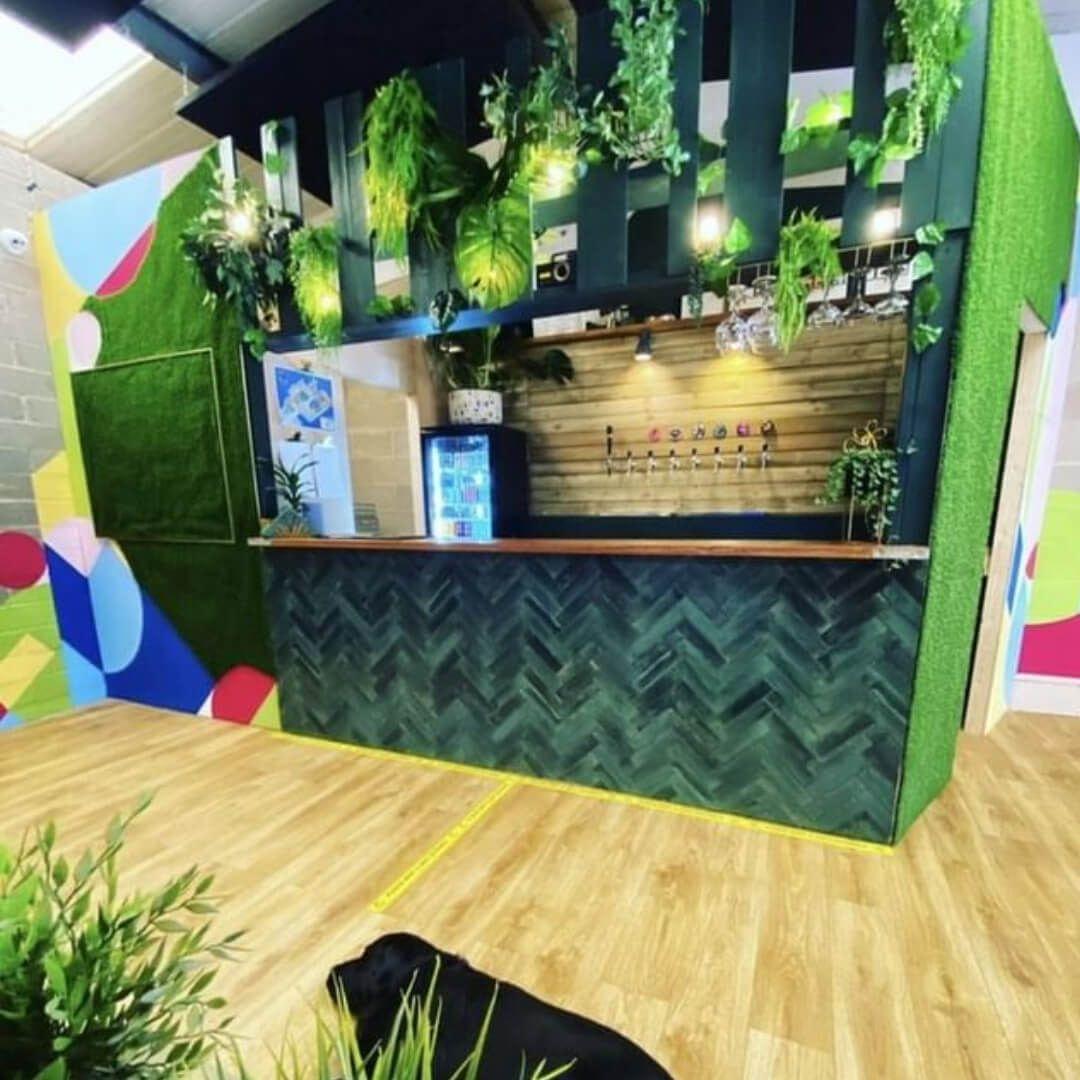 Blueberry Hill Studio upstairs bar