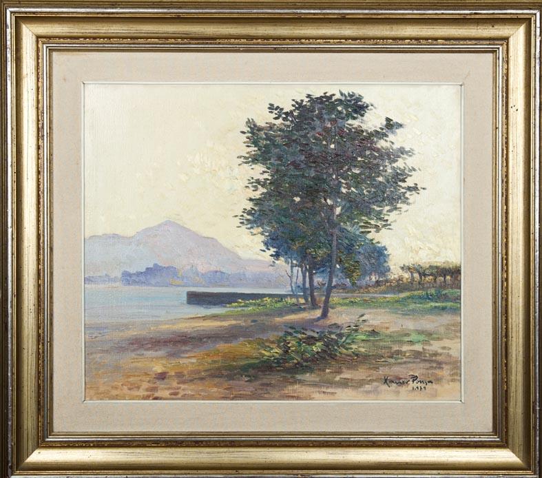 Xavier Pousa - oleo lienzo - 45x58 cm · óleo/lienzo