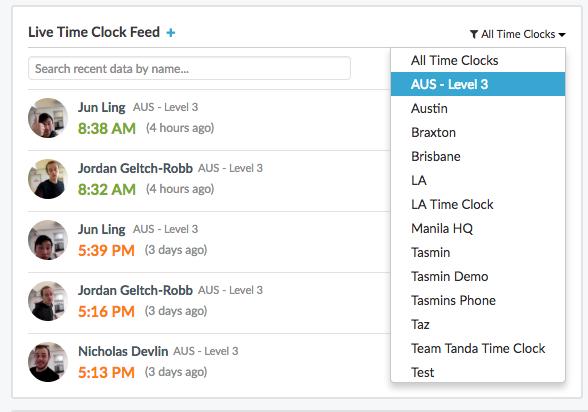 tanda-time-clock-live-feed