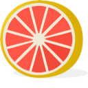 grapefruit mental health app logo