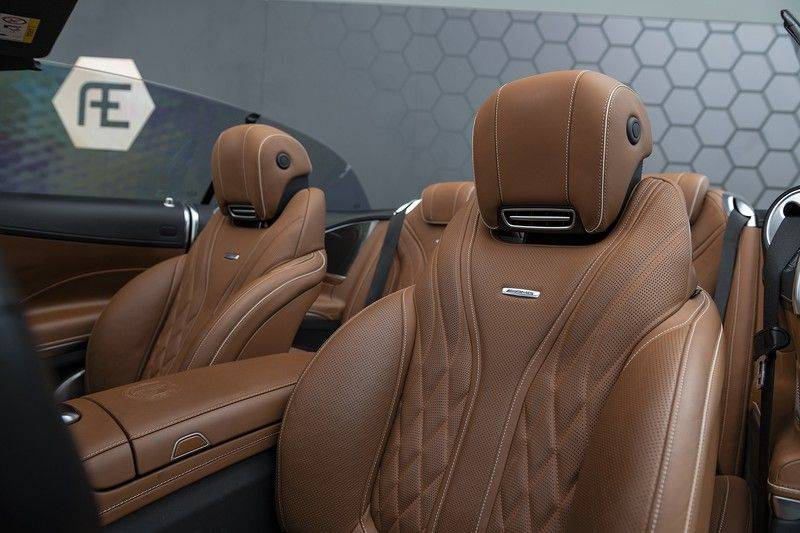 Mercedes-Benz S-Klasse 63 AMG S63 Cabriolet + AKRAPOVIC +  BURMESTER HIGH END + SWAROVSKI afbeelding 4