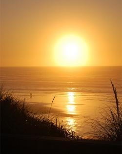 newport coast sunset