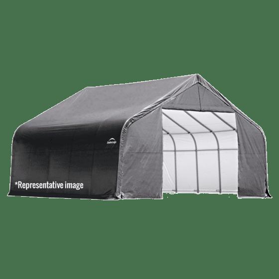 10x8x8 Peak Shelter Grey Colour