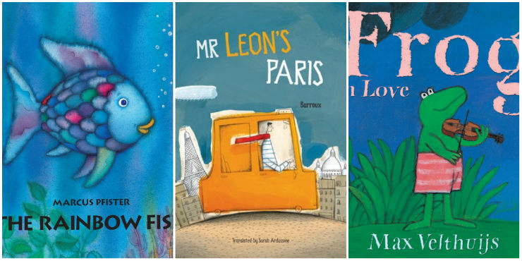The Rainbow Fish, Mr Leon's Paris, Frog in Love