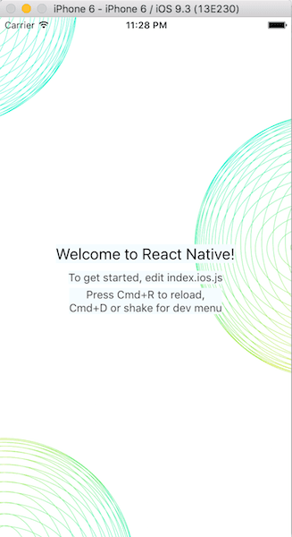 image as container in react native