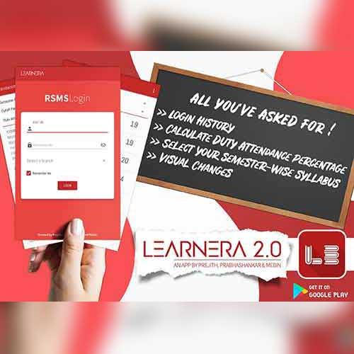 Learnera App Layout