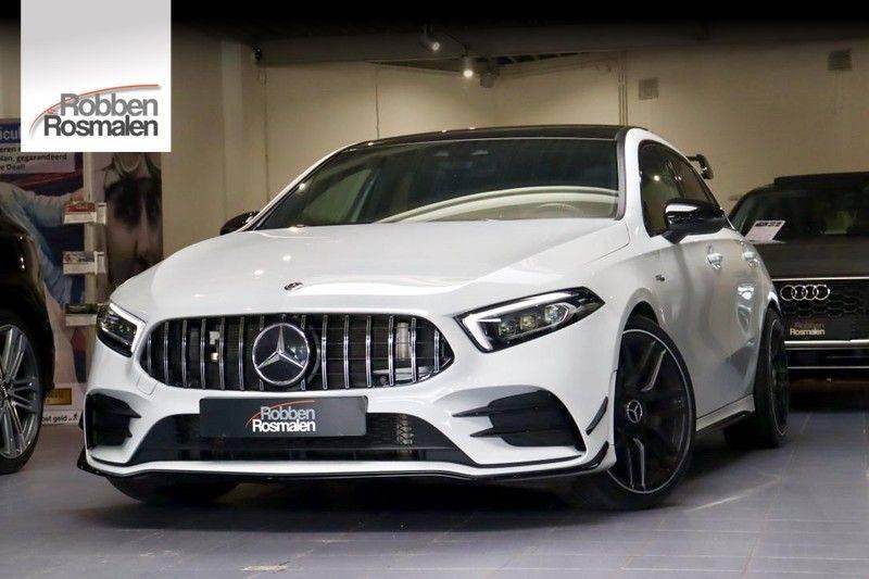 Mercedes-Benz A-Klasse A35 AMG 4MATIC Pano Aerodynamic WIDEScreen Pano Aerodynamic WIDEScreen afbeelding 1