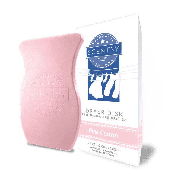 Picture of Pink Cotton Dryer Disks