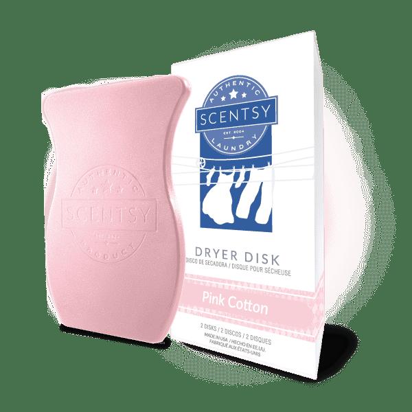 Pink Cotton Dryer Disks