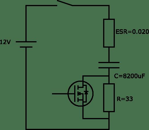 突入電流抑制回路