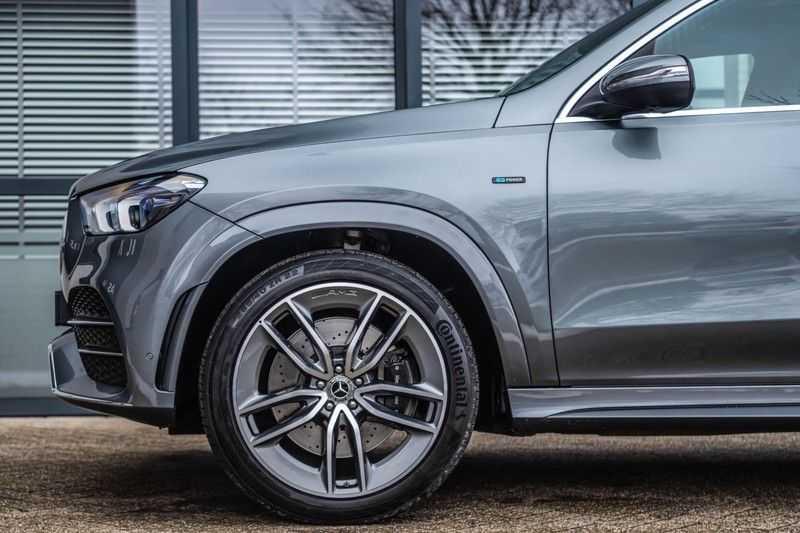 Mercedes-Benz GLE 350 de 4MATIC Premium Plus, 320 PK, AMG/In/Exterieur, Pano/Dak, Massage, Standkachel, Head/Up, BTW, 2020! afbeelding 13