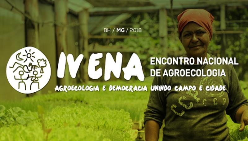 Imagem em destaque para o artigo: IV ENA – Encontro Nacional de Agroecologia