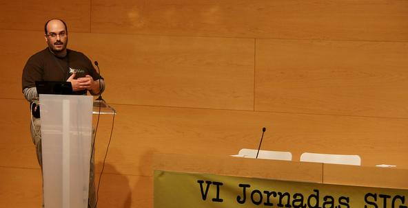 Sesiones paralelas en SIG Libre 2012
