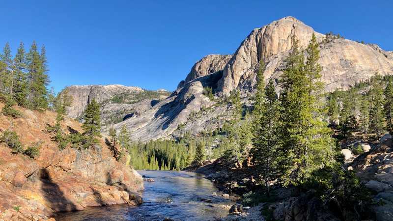 Tuolumne River in the Sierra Nevada