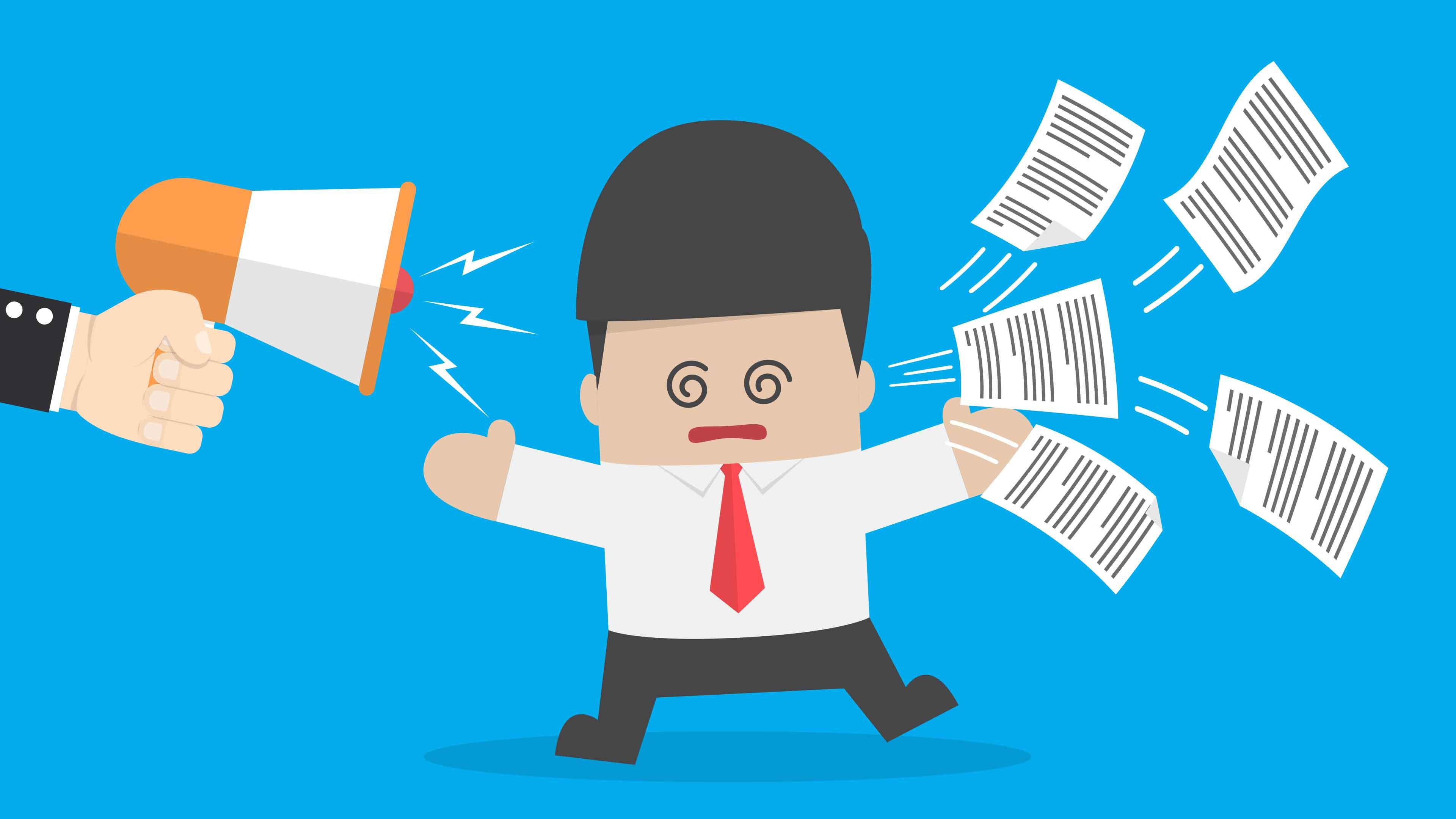 Problemas pessoais afetam seu trabalho