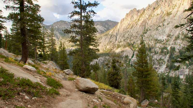 Descending into Carson River Canyon