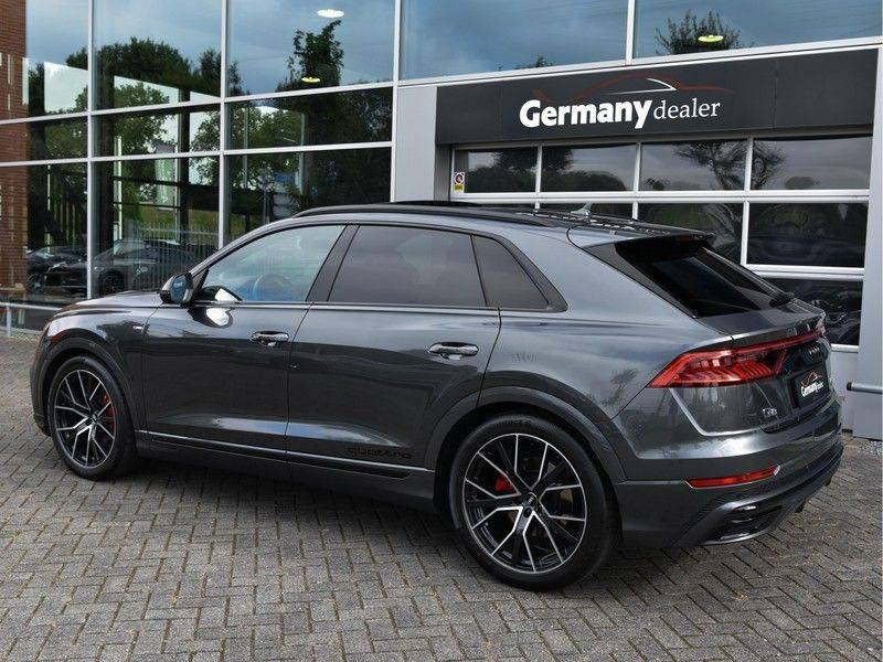 Audi Q8 50TDI 286pk Quattro S-Line Black Optic Lucht RS-Zetels B&O Pano Leder-Dash 22-Inch Soft-Close! afbeelding 9