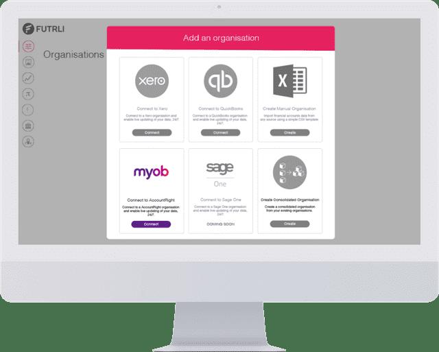 MYOB screenshot