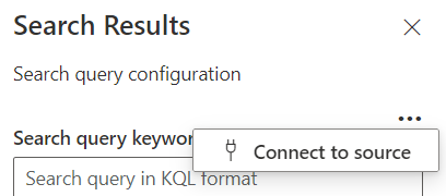 Search Results web part configuration