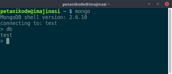 Melihat database yang sedang aktif di server