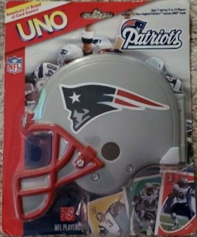 New England Patriots Uno (2007)
