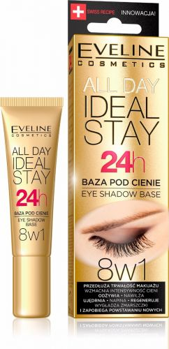 EVELINE ALL DAY IDEAL STAY szemhéjfesték alapozó 12ML