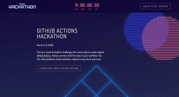 GitHub Hackathonサイト