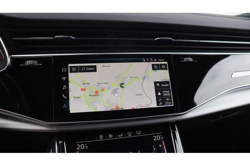 Audi SQ7 4.0 TDI 435pk quattro 7p Panoramadak, BOSE, Massage, Ruitstiksel, Trekhaak afbeelding 13