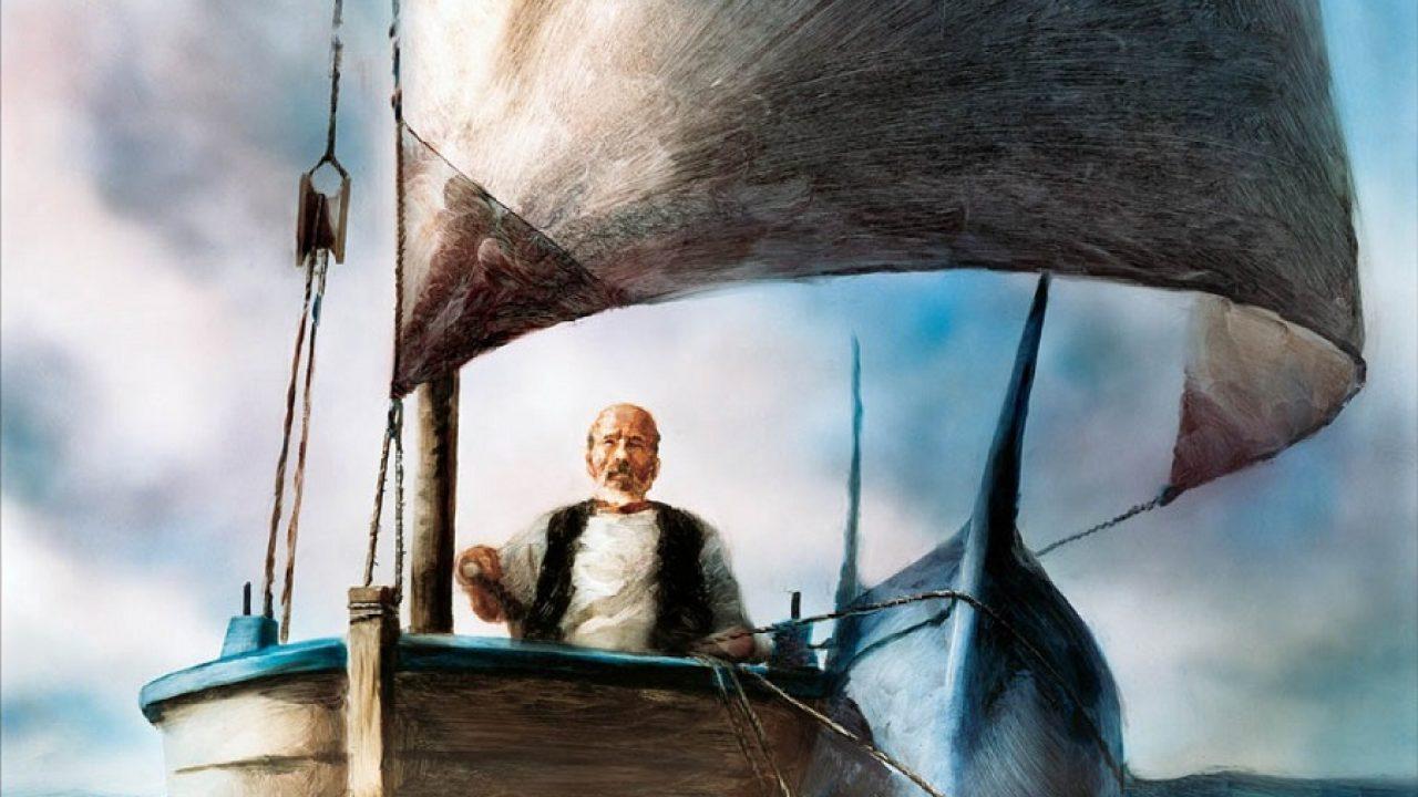 Кадр из фильма Александра Петрова «Старик и море»