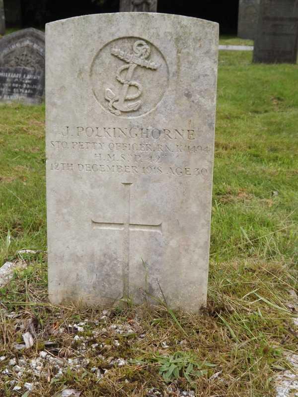 James Polkinghorne in Pensilva Cemetery