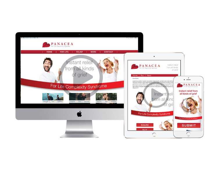 panacea website on multiple devices