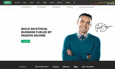 Smart Passive Income website screenshot