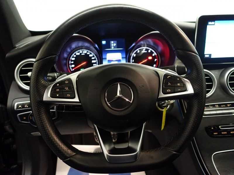 Mercedes-Benz C-Klasse Coupé 300 Prestige 245pk AMG Aut- Panodak, Leer, Camera, Navi, Xenon afbeelding 3
