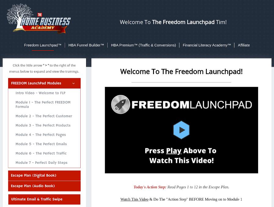Freedom Launchpad Screenshot