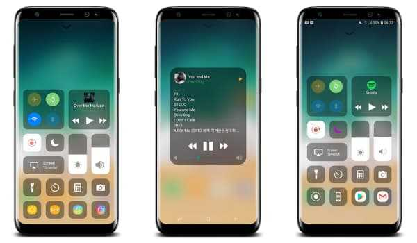 Control Center iOS 13 for Android