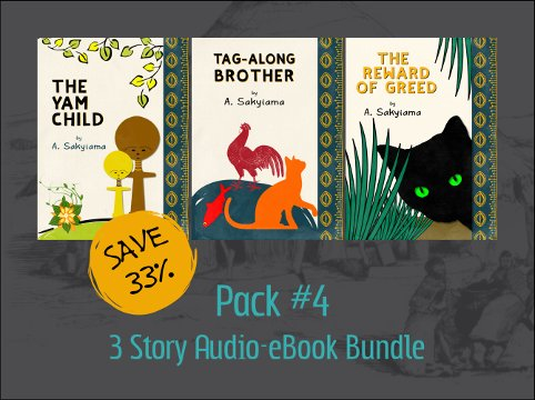 Pack #4: 3 Story Audio-eBook Bundle