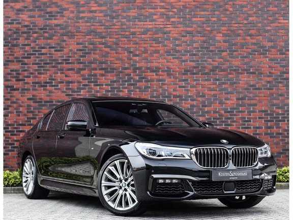 BMW 7 Serie 750d xDrive *M-sport*Head-Up*Asistant Plus*
