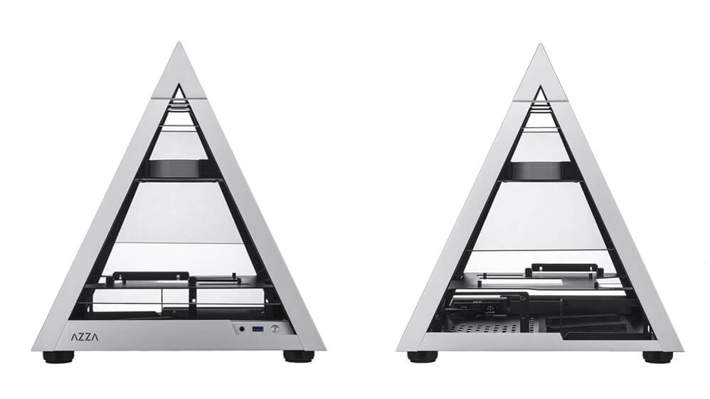 Azza's Pyramid Mini 806 Is A Unique ITX PC Case