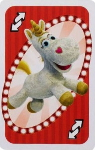Toy Story 4 Red Uno Reverse Card