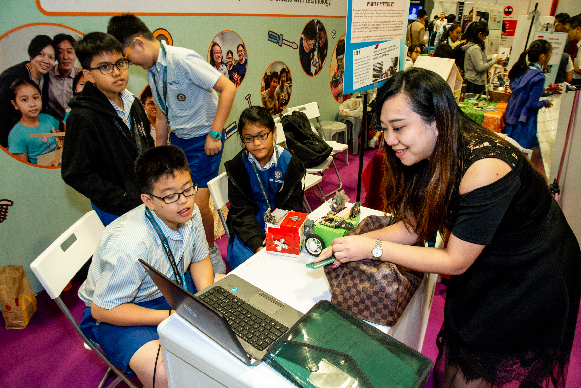 The fourth annual edition of EduTECH Asia 2019 is back! Join us at the IMDA zone, at the free-to-attend EduTECH Asia 2019 expo to see how we prepare students to be future-ready digital citizens!
