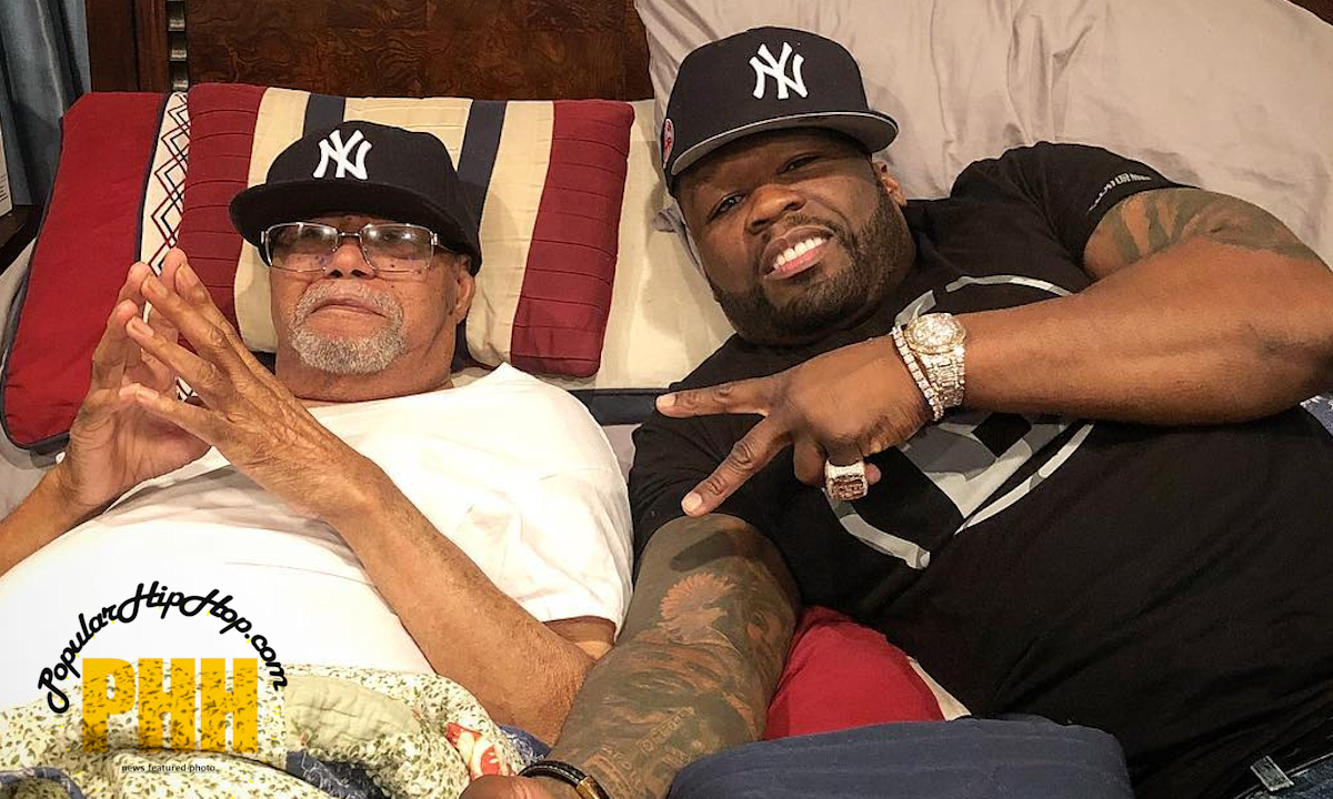 50 Cent With His Grandfather, Who Raised him, Curtis Jackson II