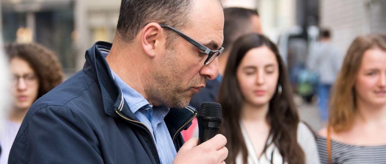 Inauguration de 6 nouveaux Pavés de la Mémoire