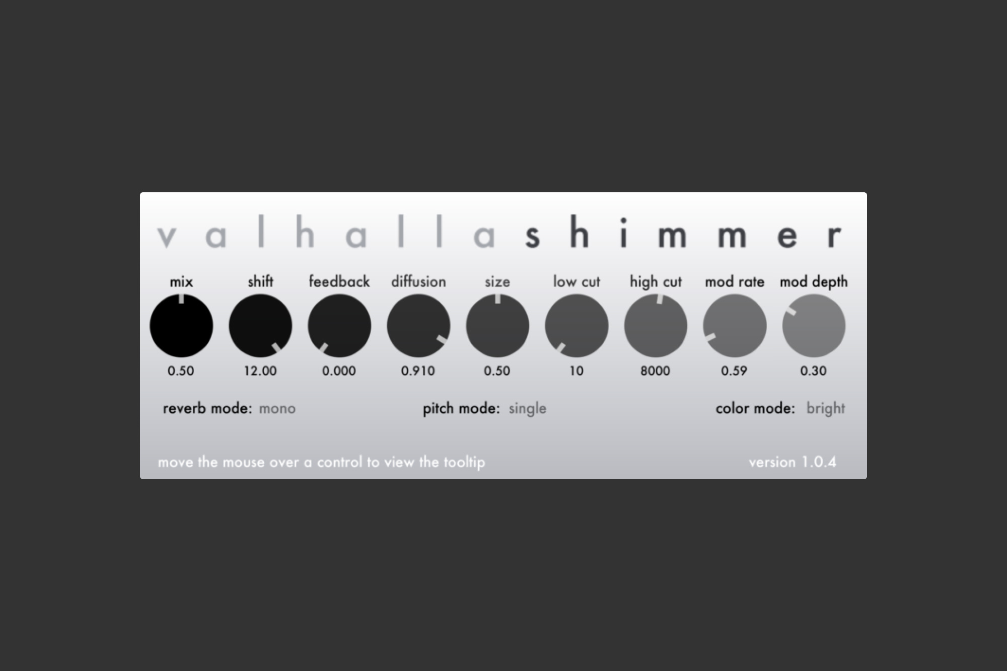 An image of the Valhalla Shimmer.