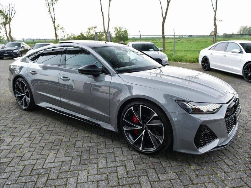 Audi RS7 Sportback 4.0TFSI 600pk Quattro Black Optic Laser-Led Softclose Head-Up Leder-dash RS-Zetels 22-Inch 360Camera afbeelding 5