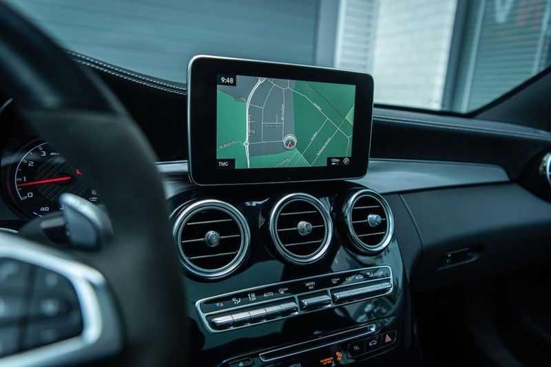 Mercedes-Benz C-Klasse 63 AMG, 476 PK, Pano/Dak, Distronic, Night/Pakket, Burmester, LED, Keyless, 30DKM, Nieuwstaat, BTW!! afbeelding 8