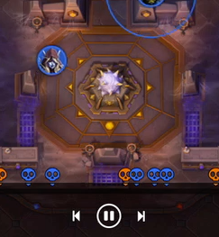 Screenshot of playback feature