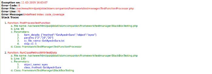 Error Handler Component